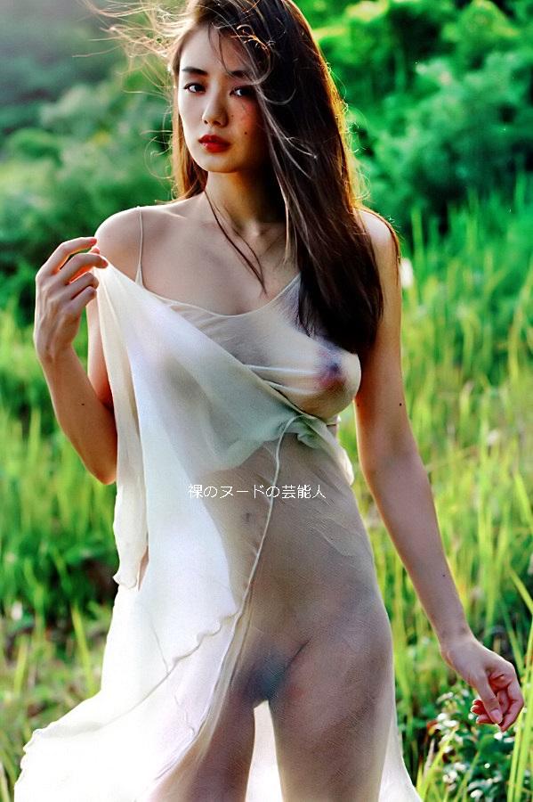 【画像】片山萌美Part1(女優,グラビアアイドル)セミヌード,乳首透け,乳輪見え,巨乳,Rashin 裸芯,Katayama Moemi
