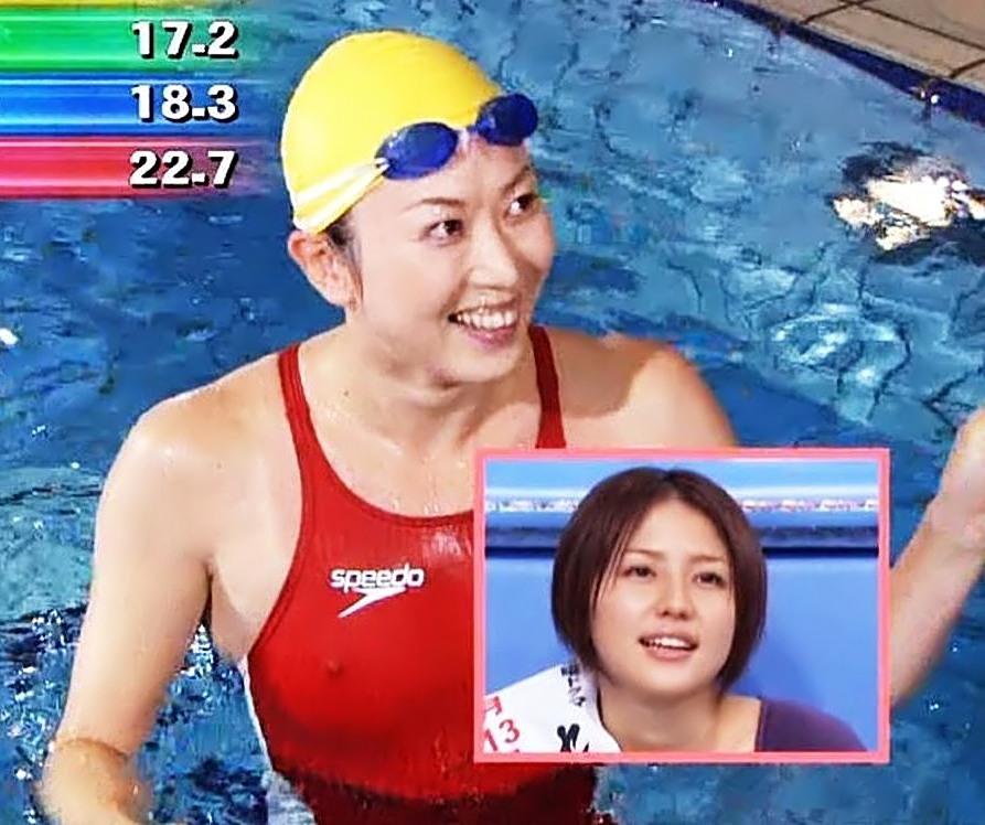 【画像】田中雅美Part1(女子水泳選手,女性タレント)セミヌード,乳首ポチ,Tanaka Masami
