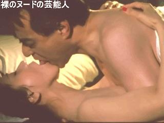 【GIFアニメ】岩下志麻Part4(女優)濡れ場,舌を絡める,熟女,桜の樹の下で,津川雅彦,Iwashita Shima