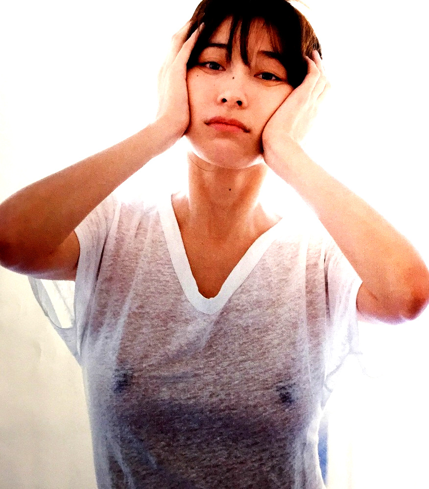 【画像】山崎真実Part5(女優,グラビアアイドル)セミヌード,乳首透け,乳首ポチ,尻見え,Yamasaki Mami