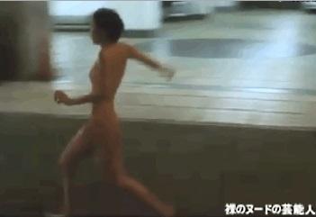 【GIFアニメ】藤谷文子Part1(女優)全裸走り,尻見え,TOKYO!,スティーヴン・セガール娘,Fujitani Ayako